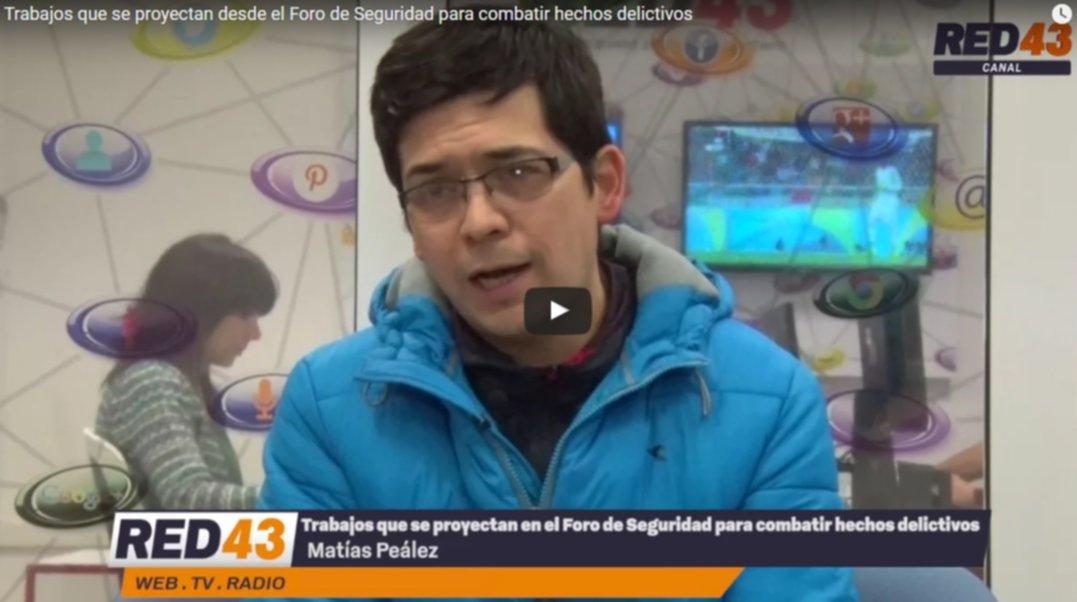 """f6fc880070 Inseguridad en Esquel  """"Comprar un artículo robado es ser parte de la  cadena delictiva"""" dijo Peláez"""